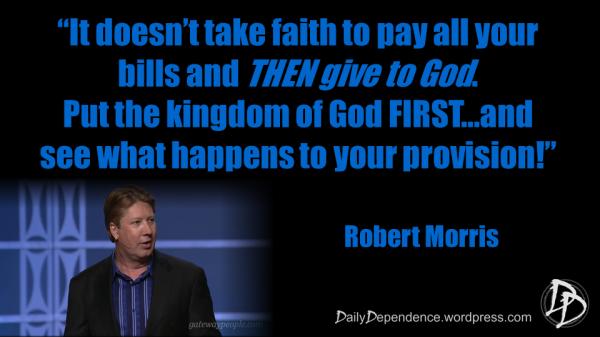 67 - Daily Dependence - Robert Morris
